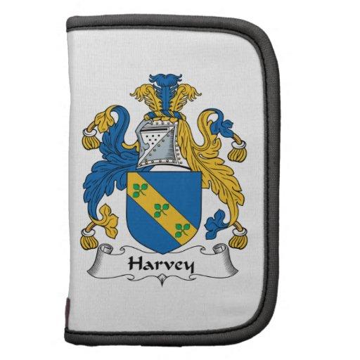 Escudo de la familia de Harvey Organizador
