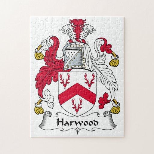 Escudo de la familia de Harwood Rompecabezas