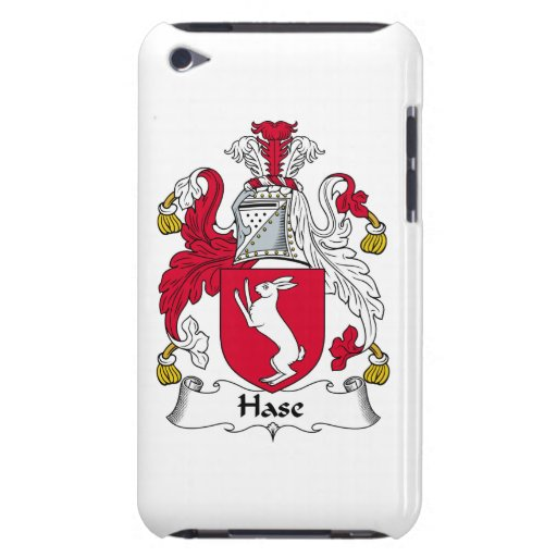 Escudo de la familia de Hase Case-Mate iPod Touch Cárcasa