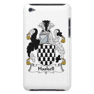 Escudo de la familia de Haskell iPod Touch Case-Mate Carcasa
