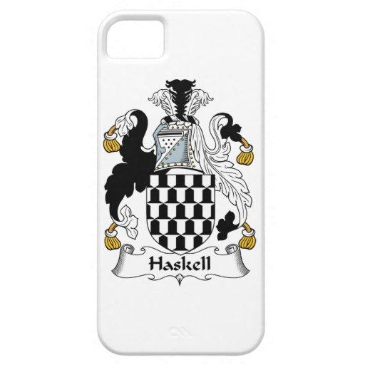 Escudo de la familia de Haskell iPhone 5 Case-Mate Cárcasa