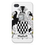 Escudo de la familia de Haskell iPhone 4 Funda