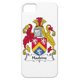 Escudo de la familia de Haskins iPhone 5 Funda