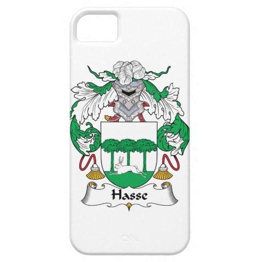Escudo de la familia de Hasse Funda Para iPhone 5 Barely There