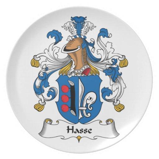 Escudo de la familia de Hasse Plato