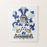 Escudo de la familia de Hasset Puzzle Con Fotos