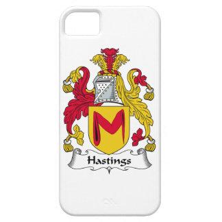Escudo de la familia de Hastings iPhone 5 Carcasas