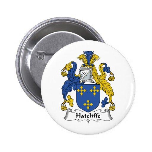 Escudo de la familia de Hatcliffe Pins
