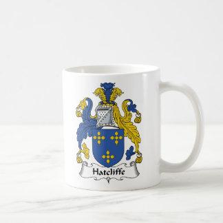 Escudo de la familia de Hatcliffe Taza De Café
