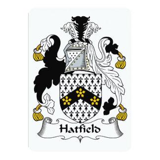 Escudo de la familia de Hatfield Comunicados Personales