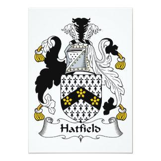 Escudo de la familia de Hatfield Invitaciones Personales