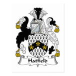 Escudo de la familia de Hatfield Postal