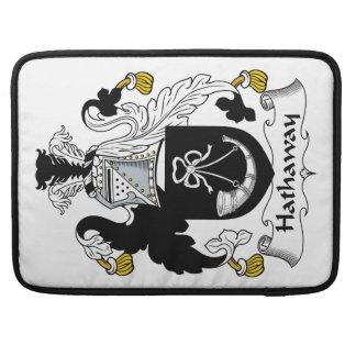 Escudo de la familia de Hathaway Funda Macbook Pro