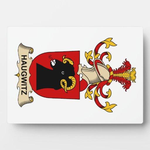 Escudo de la familia de Haugwitz Placas De Madera