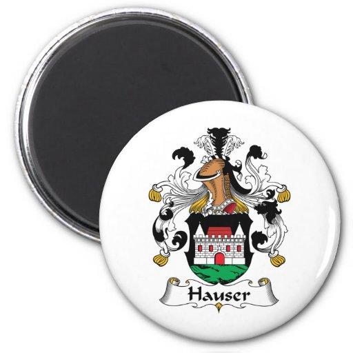 Escudo de la familia de Hauser Imán De Nevera