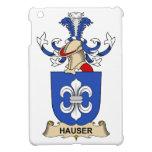 Escudo de la familia de Hauser iPad Mini Carcasa