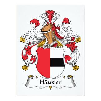 Escudo de la familia de Hausler Comunicados