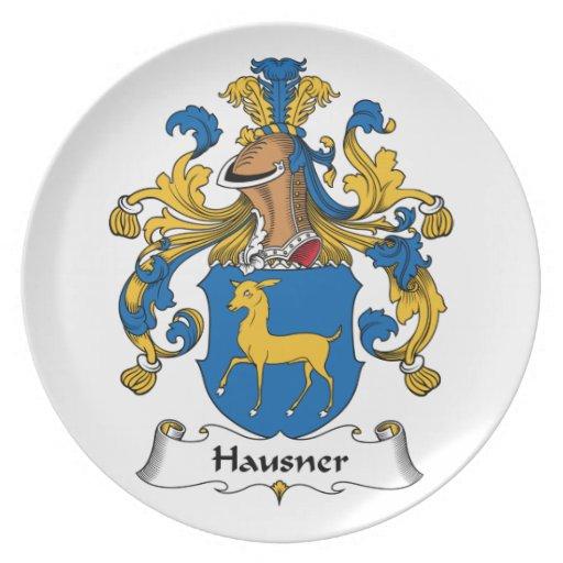 Escudo de la familia de Hausner Platos