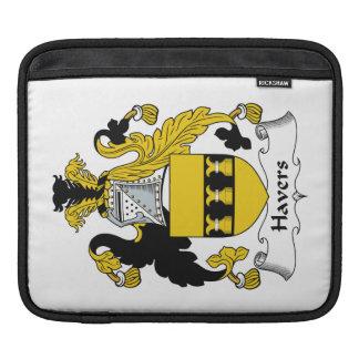 Escudo de la familia de Havers Funda Para iPads