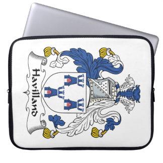 Escudo de la familia de Havilland Fundas Computadoras