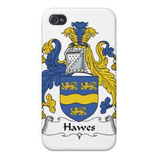Escudo de la familia de Hawes iPhone 4 Cobertura