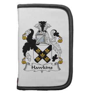 Escudo de la familia de Hawkins Organizador