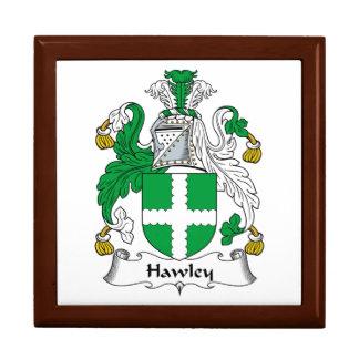 Escudo de la familia de Hawley Caja De Regalo