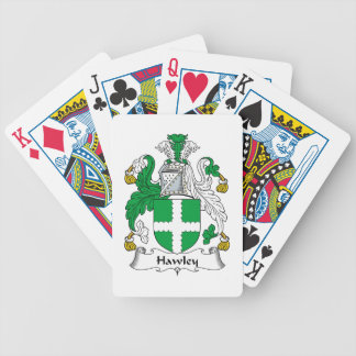 Escudo de la familia de Hawley Cartas De Juego