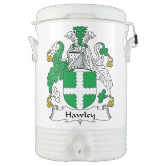 Escudo de la familia de Hawley Vaso Enfriador Igloo
