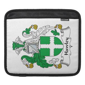 Escudo de la familia de Hawley Fundas Para iPads