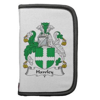 Escudo de la familia de Hawley Organizadores