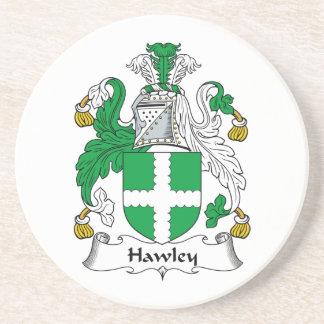 Escudo de la familia de Hawley Posavasos Para Bebidas