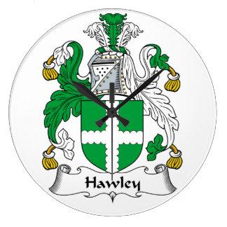 Escudo de la familia de Hawley Reloj