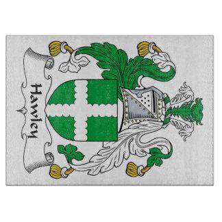 Escudo de la familia de Hawley Tablas Para Cortar