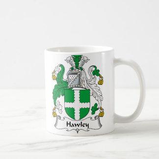 Escudo de la familia de Hawley Taza De Café