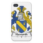 Escudo de la familia de Haworth iPhone 4 Funda