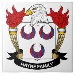 Escudo de la familia de Hayne Tejas