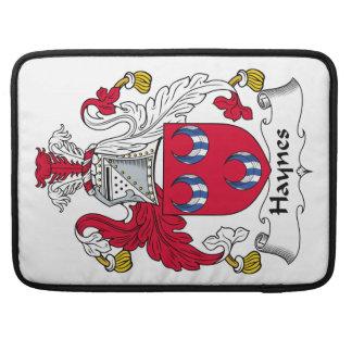 Escudo de la familia de Haynes Funda Macbook Pro