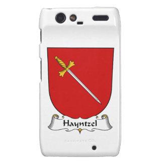Escudo de la familia de Hayntzel Motorola Droid RAZR Funda