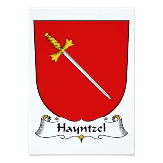 Escudo de la familia de Hayntzel Comunicado