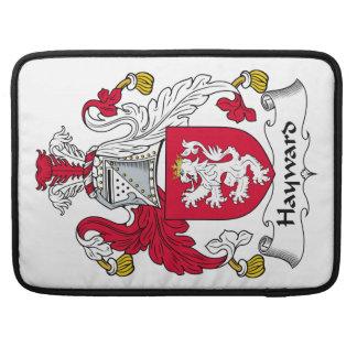 Escudo de la familia de Hayward Funda Macbook Pro