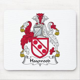 Escudo de la familia de Haywood Alfombrillas De Ratones