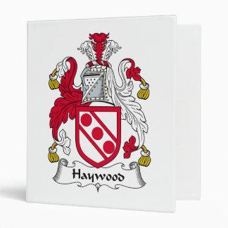 """Escudo de la familia de Haywood Carpeta 1"""""""