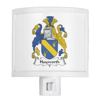 Escudo de la familia de Hayworth