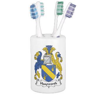 Escudo de la familia de Hayworth Conjuntos De Baño