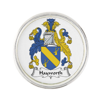 Escudo de la familia de Hayworth Pin