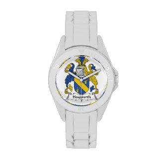 Escudo de la familia de Hayworth Reloj De Mano
