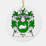 Escudo de la familia de Haza Adornos De Navidad