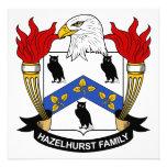 Escudo de la familia de Hazelhurst Comunicado Personal