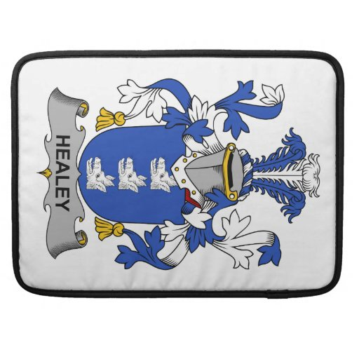 Escudo de la familia de Healey Funda Para Macbooks
